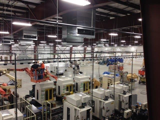 Finishing Machine Installation In Work Cells