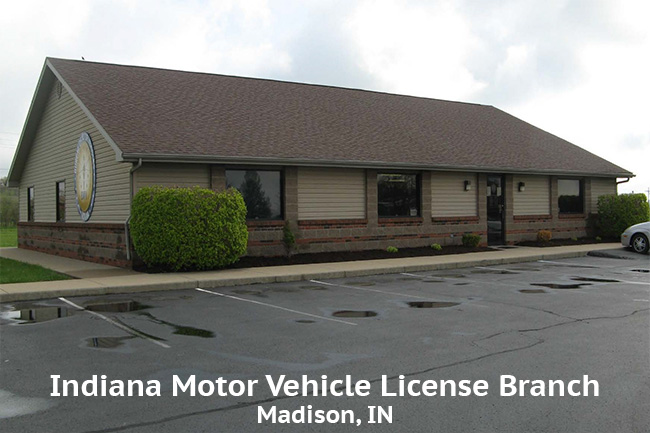 Indiana Motor Vehicle License Branch